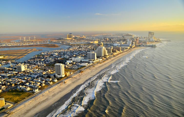 Best of Atlantic City!! - Atlantic City - Řadový dům