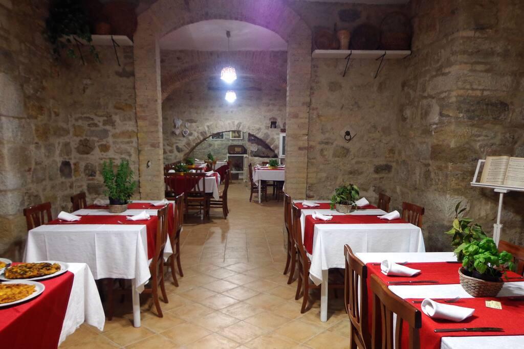Area Interna Colazione, Pranzo e Cena