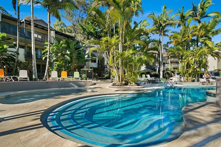 Noosa Beach apartment on Hasting St FRENCH QUARTER - Noosa Heads - Apartment