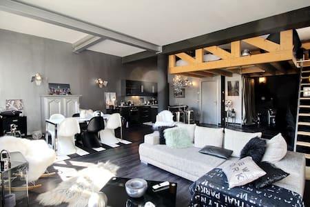 Loft moderne au pays du Mont-Blanc - 萨朗什 (Sallanches) - 阁楼