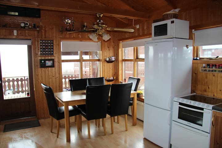 Golden Circle, cottage with a view and free Wi-Fi - Blaskogabyggd - Hus