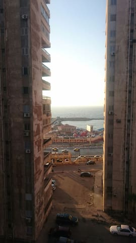 Furnished apartment with sea view - Alexandrie - Byt