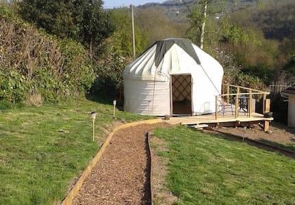 Yurtis, Yurt Rental Cornwall - Calstock