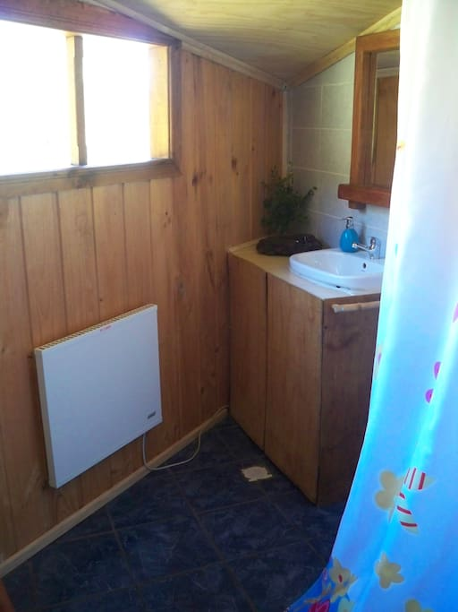 baño privado completo con eco radiador