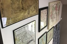 Our map wall