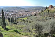 Breathtaking View from the walls of Certaldo Village