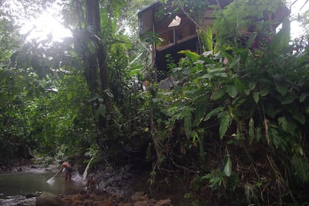 Secluded Chalet - riverside forest - Lawas