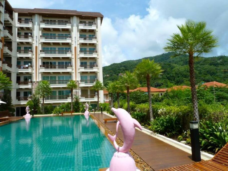 New And Best Location Patong Apartments For Rent In