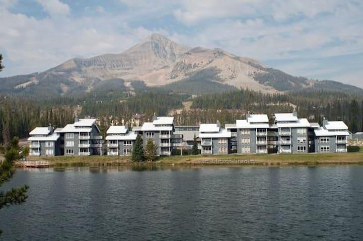 Big Sky Lakeside Condominium - Big Sky - Flat