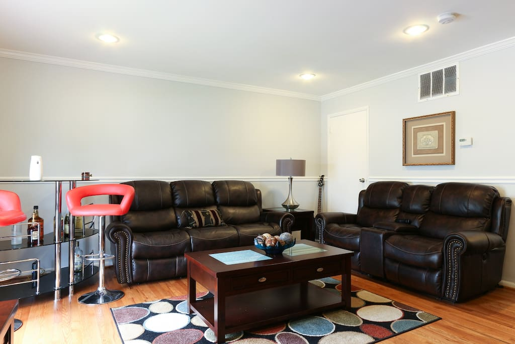 well furnished basement close to dc houses for rent in