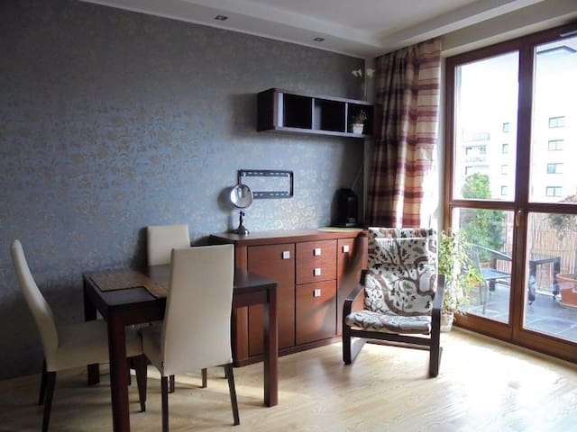 One high-standard room apartament near to METRO - Warszawa