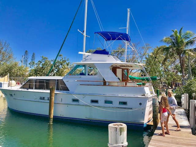 Live on the water in the Florida Keys