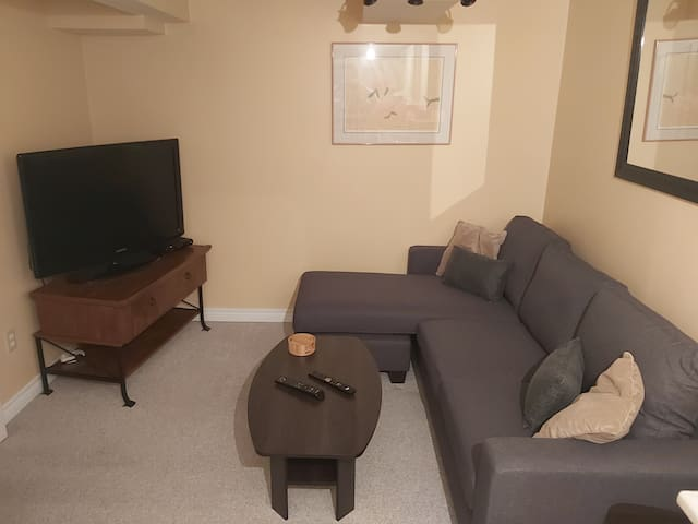 Cozy 1 bedroom basement suite  in Barrie south