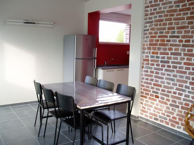 Gîte de Flandres, gîte équipé à neuf, Holque - Holque - Apartment