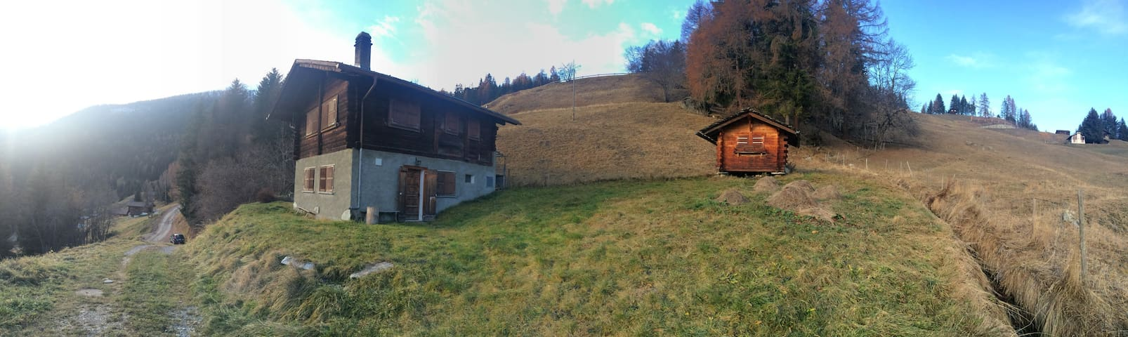 Chalet in the Swiss Alps, Valais - Bagnes - Casa