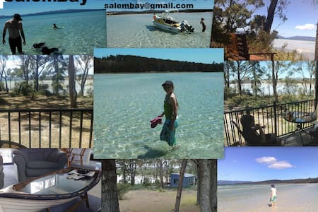 Salem Bay Beach House - 3 Nights - Saltwater River - Casa