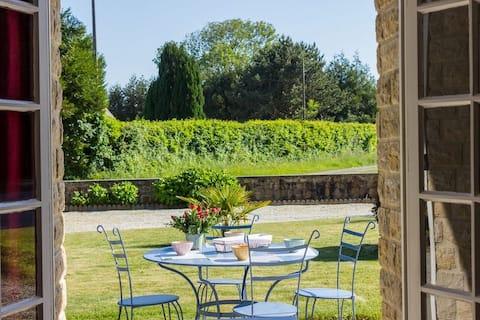 Pavillon 3* situé à Vaudreville à la campagne