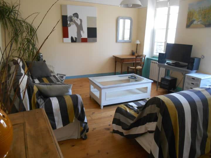 Appartement T2 lumineux Limoux centre ville