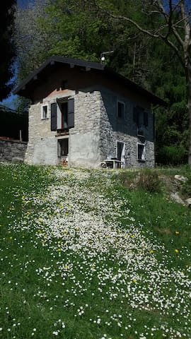 PACELUCE, flat in stones house in the green - Veglio - Daire