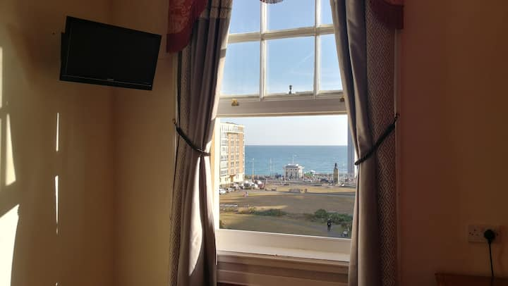 Ensuite Double Room with Sea View in Regency Hotel