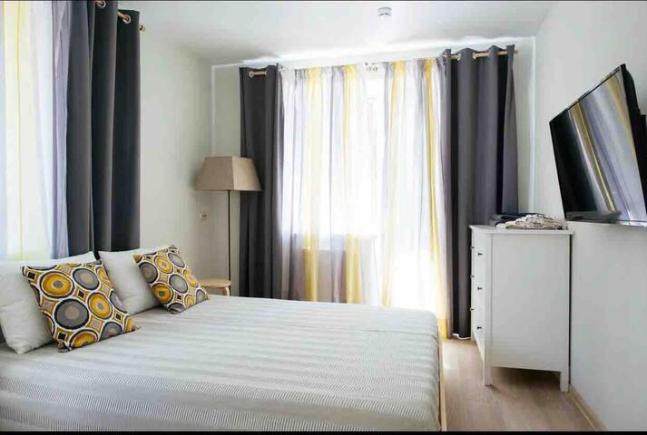 Апарты в сосновом лесу с 2 спальнями(1 или 2 этаж)