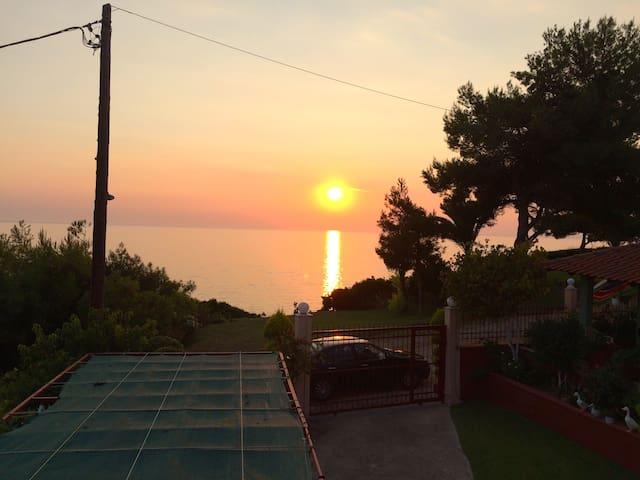Ηλιοβασίλεμα Ποτίδαια Sunset - Νέα Ποτιδαια  - Appartement