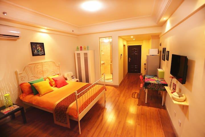 【温馨家园】一房式套房 C - Shanghaï - Appartement