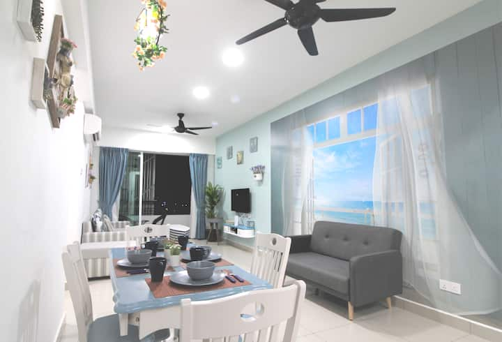 H2H-Marine Home @ Majestic Ipoh (10Guests)