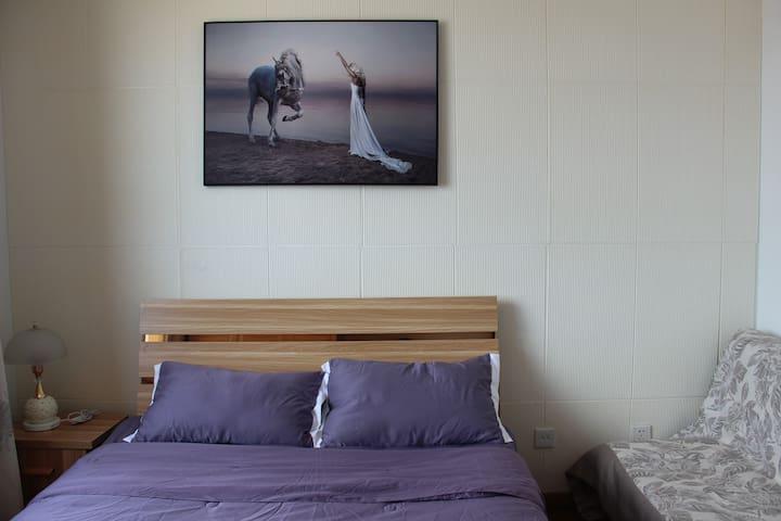 海阳万米海滩/海立方海景两居室