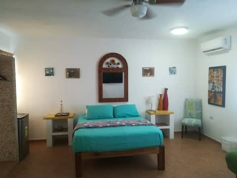 Rooms in House/Aparment in Mita close to the Ocean