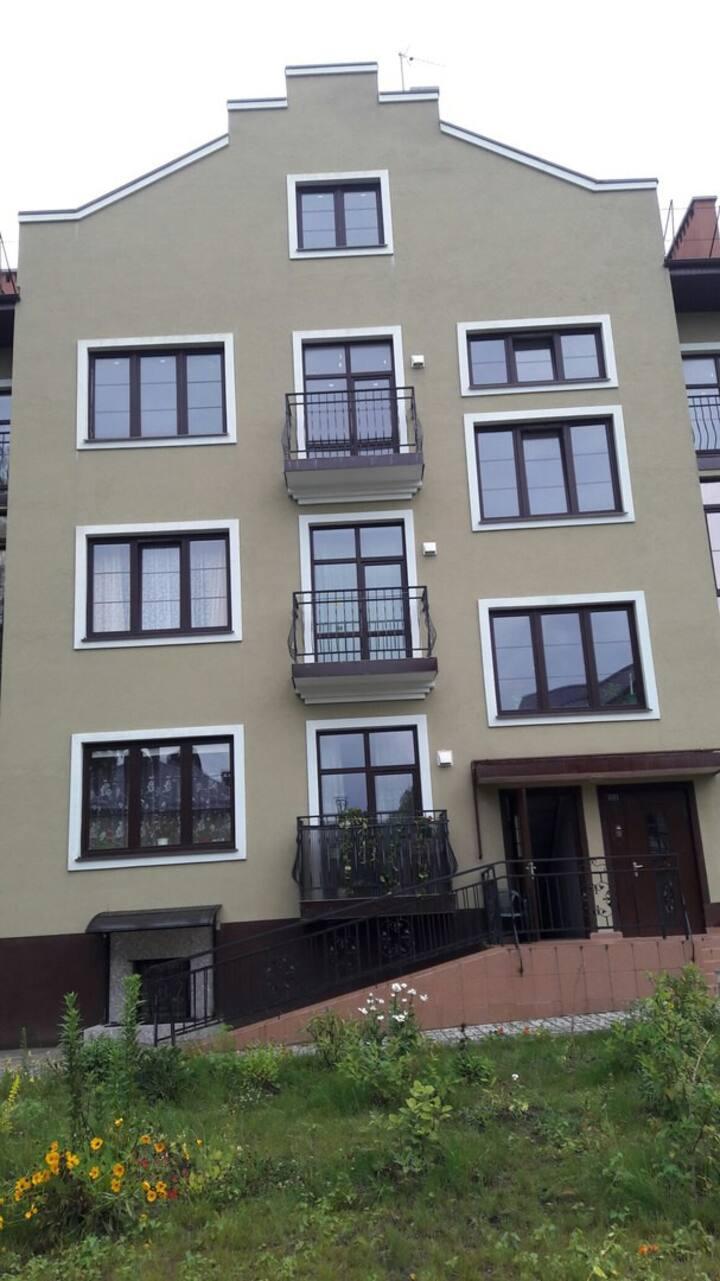 Недорогое жильё  в уютном районе Светлогорска.