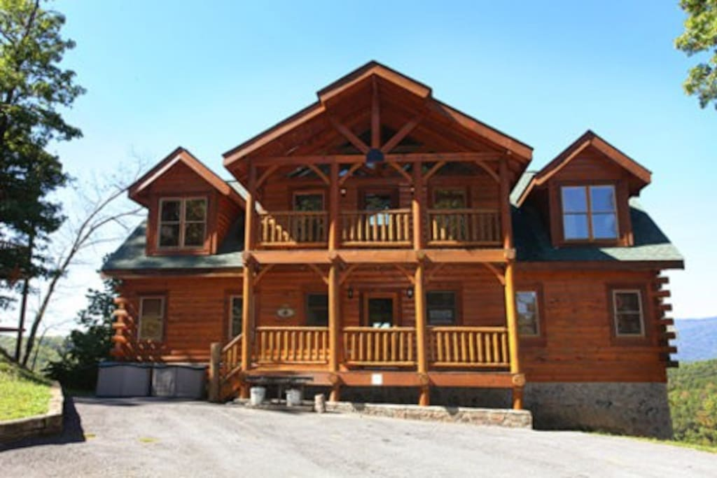 Hullabaloo Cabins For Rent In Sevierville Tennessee United States