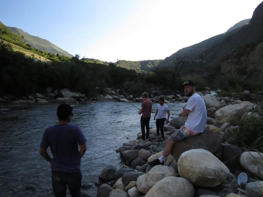 Pesca en el Río Chota o Mataquí