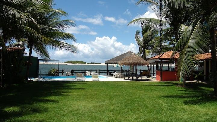 Casa beira mar/lagoa da Barra Nova (15min Maceió)