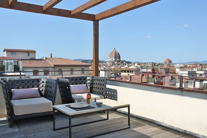 D'Azeglio Rooftop Terrace in Florence-renovated!!