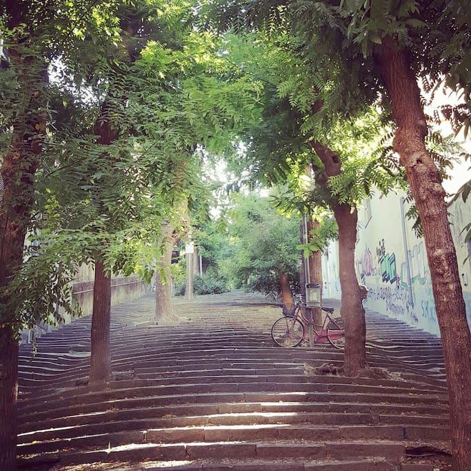 Stairsway Cernaia