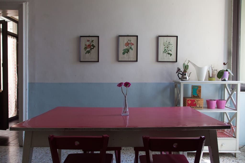 Dining room (common area)
