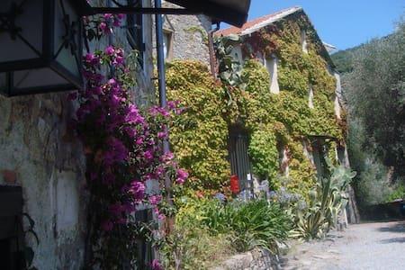Urlaubs-Idyll in ligurischem Bauernhaus - Diano Arentino - Pensió