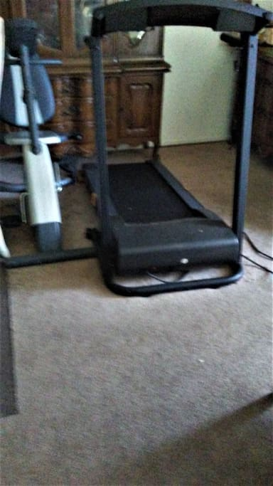Exercise Bike and Tread Mill available daily.