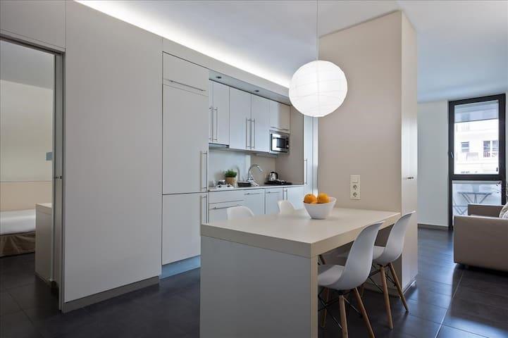 2 Bedroom Apartment at BCN Montjuic Aparthotel