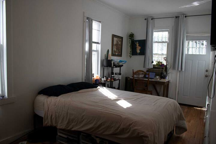 Private Room in Bushwick with Large Backyard