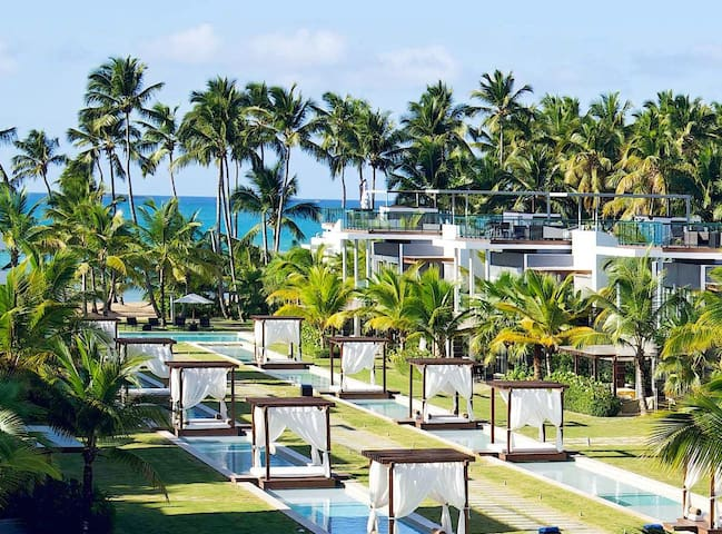 Beachfront at Sublime Hotel & Res - Las Terrenas - Apartemen