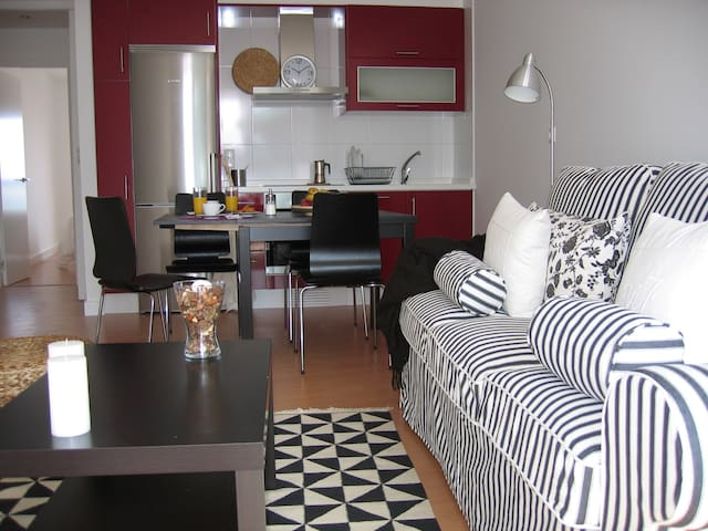 Charming apartment on the beach - Corrubedo-Ribeira - Appartement