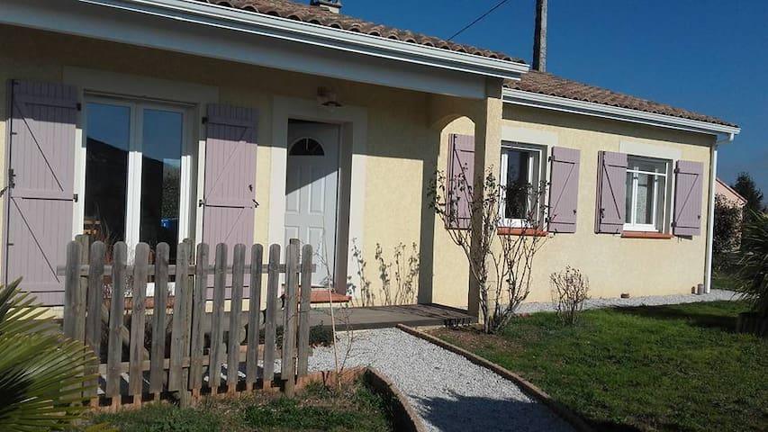 maison neuve calme - Saint-Sulpice-la-Pointe - Huis