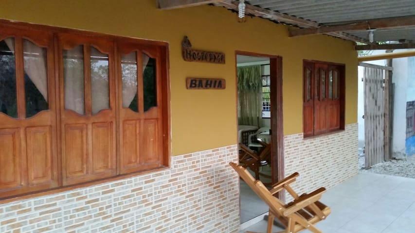 Casa nativa en la isla de Bocachica