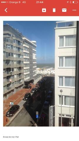Appartement 3 ch + 2 parkg  vue mer - Knokke Heist - Apartemen