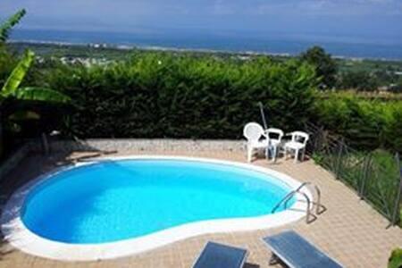 Villa privata con piscina,Bacoli . - Bacoli - Villa