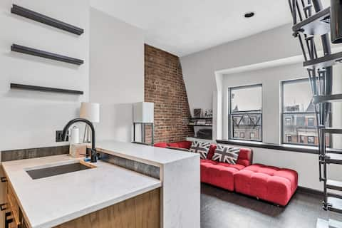 Stunning South End 1BR - private roofdeck
