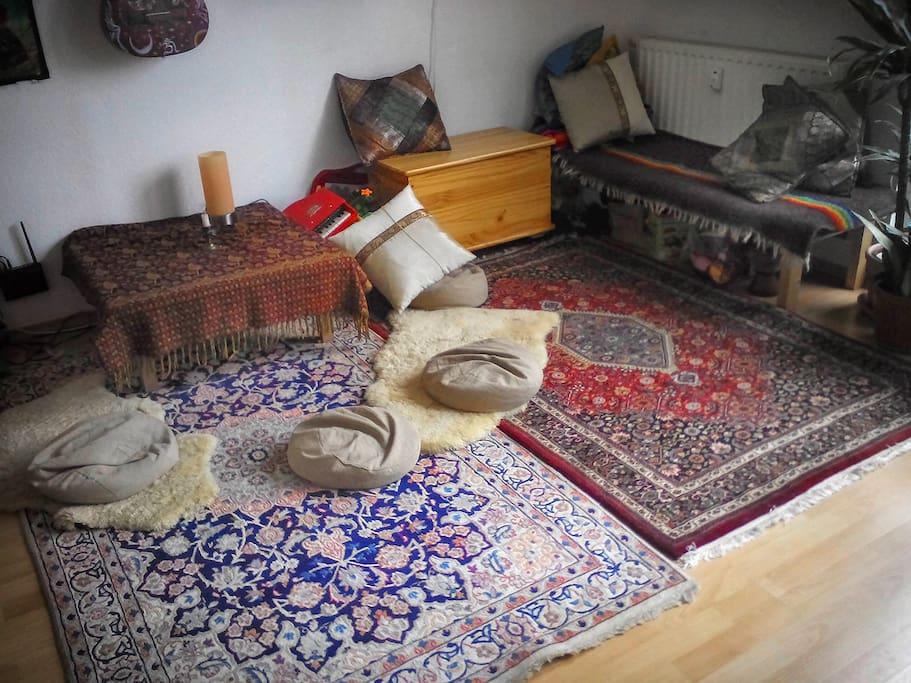 Wohnzimmer Kuschelecke