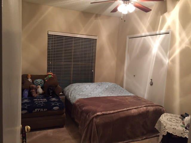 Quiet,clean room w.private bathroom - Plano - Apartament